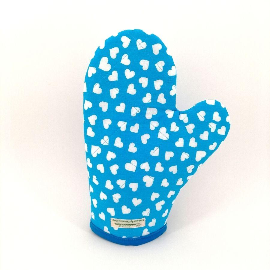 Topfhandschuh schützt vor Hitze und Verbrennungen.